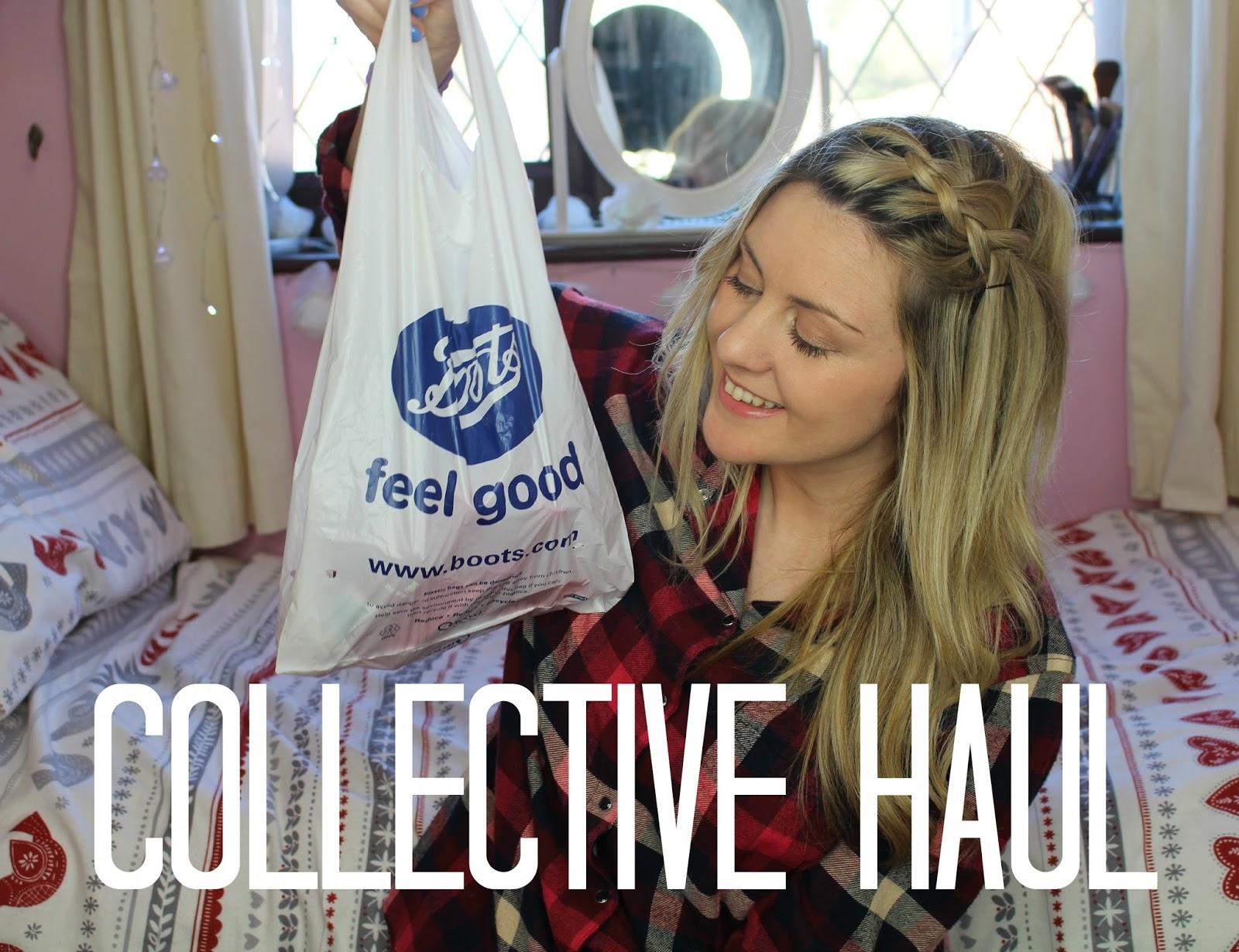 collective haul, through chelsea's eyes, boots haul, lush haul, clothing haul,