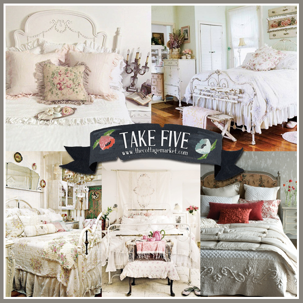 Take 5 the perfect cottage vintage bed the cottage market for Perfect cottage
