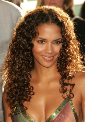 Halle Berry Curly Long Hair Styles