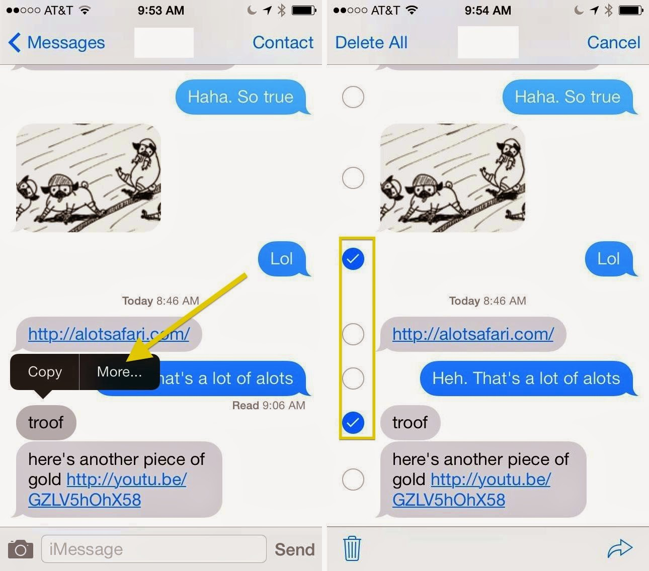 How To Delete Emails On Iphone 5 Delete Iphone Sms