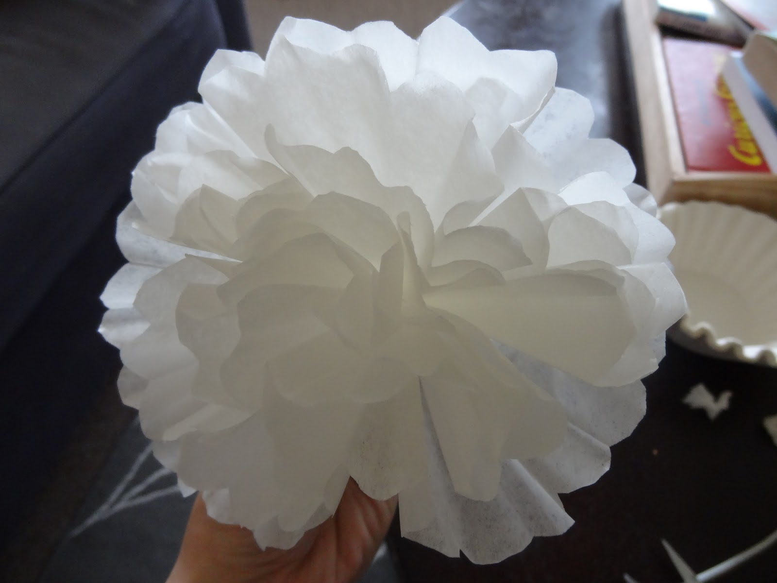 14 Days of Valentines Day 1 Coffee Filter Flowers