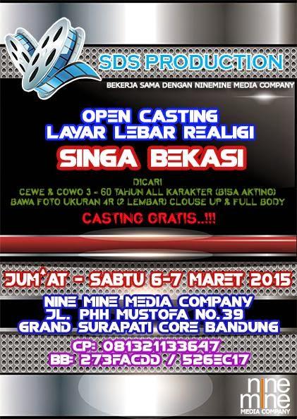 Casting  Film Singa Bekasi