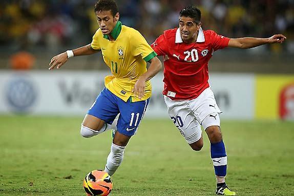 Chile vs Brasil