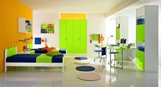 desain kamar anak laki laki colorful tips rumah