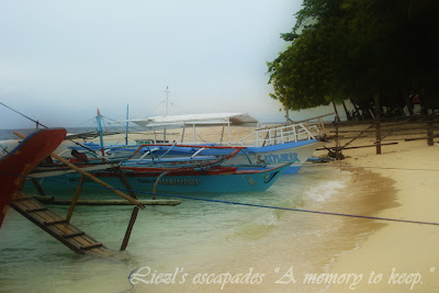White Beach of Kaputian Samal Island