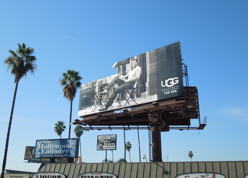 UGG Australia for Men special extension billboard