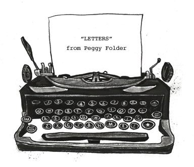 """Letters"" from Peggy Folder"