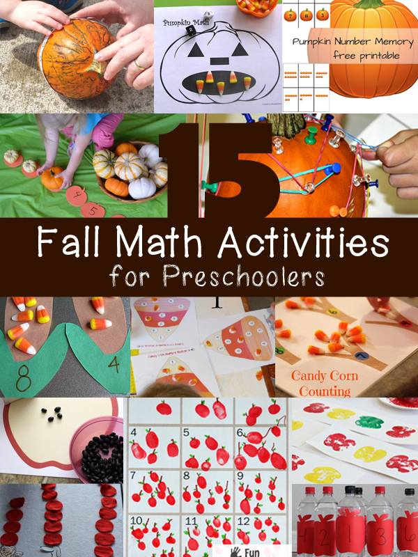 15 Fall Math Activities for Preschoolers (Love to Learn ...