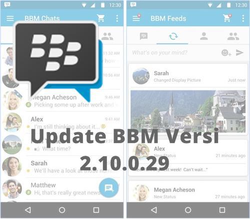 Update BBM 2.10.0.29