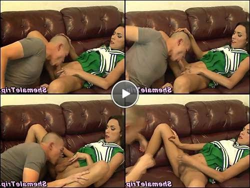 tgirl dildo video