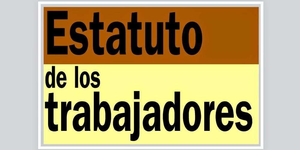 Estatuto de los Trabajadores y Derecho laboral
