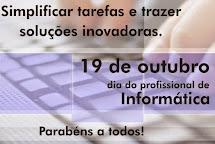 19/10 - DIA DO PROFISSIONAL DE INFORMÁTICA