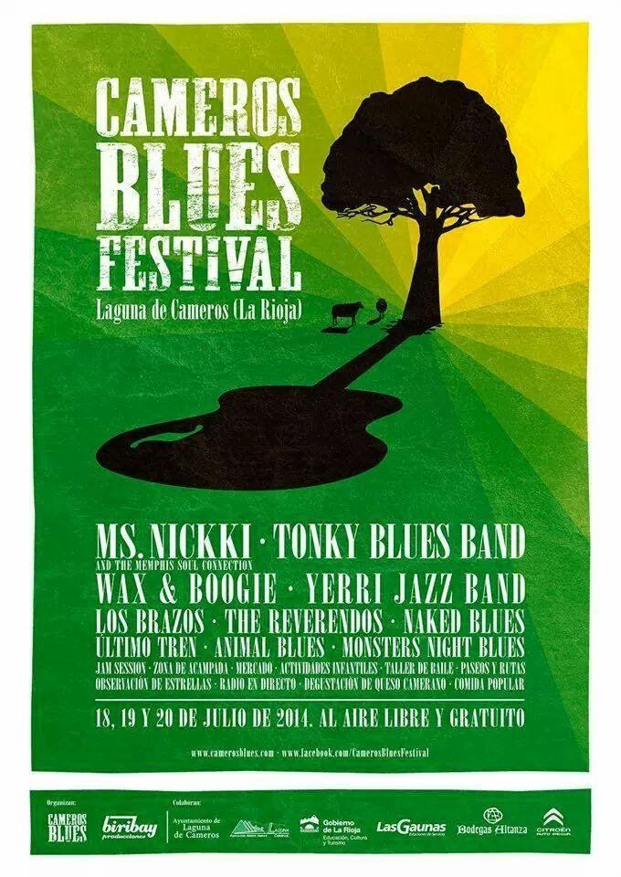 II Cameros Blues Festival. Laguna de Cameros, del 18 al 20 de julio.