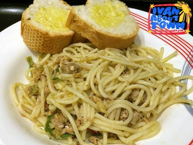 Bicol Express Pasta at Small Talk Cafe, Legazpi City, Albay