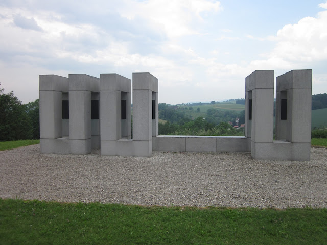 Netherlands Monument, Mauthausen Concentration Camp, Vienna / SouvenirChronicles.blogspot.com