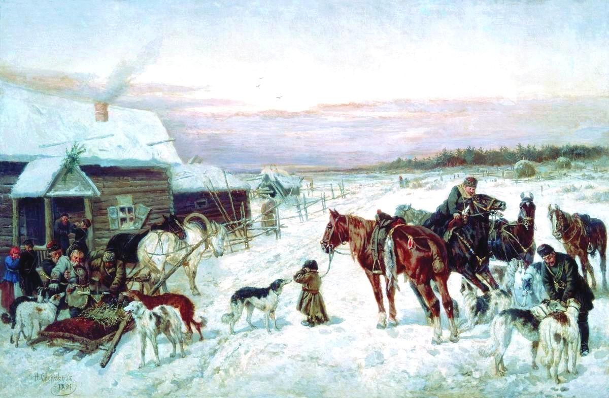 The Glory Of Russian Painting Nikolai Sverchkov