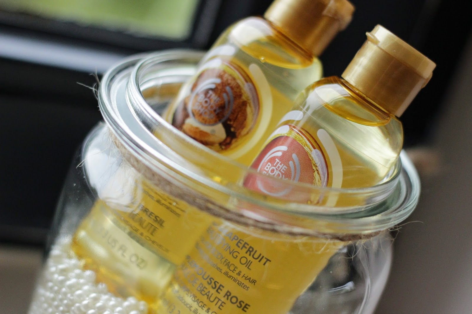 winactie the body shop, winactie the body shop beautifying oils