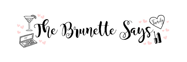 The Brunette Says...