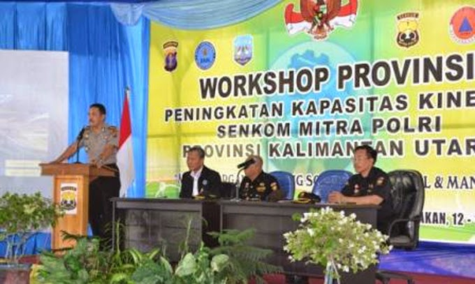 Workshop Senkom Provinsi Kaltara