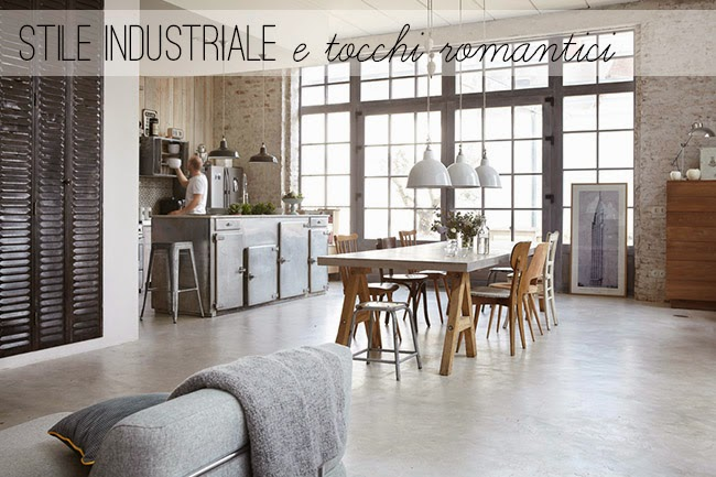 Industrial style with romantic touches home shabby home for Sedie industrial style