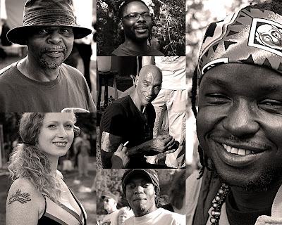 Beautiful people, Amsterdam, Roots Festival 2011, Oosterpark
