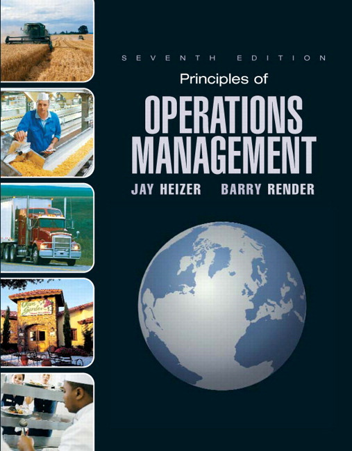 Operations management by heizer
