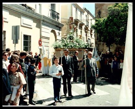 Entrada en Plaza de España para el Encuentro