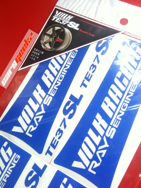 Volk Racing Rays Engineering TE37SL sticker