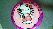 Alexandra's Hello Kitty Cake