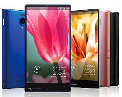 "Smartphone Sharp Aquos 302SH Xx, screen 5.2 inch Full-HD, 800 Snapdragon, ""gorgeous"""