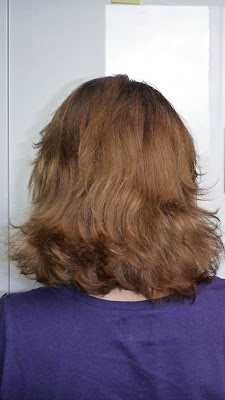 Powrót z wakacji i biegiem do fryzjera :)