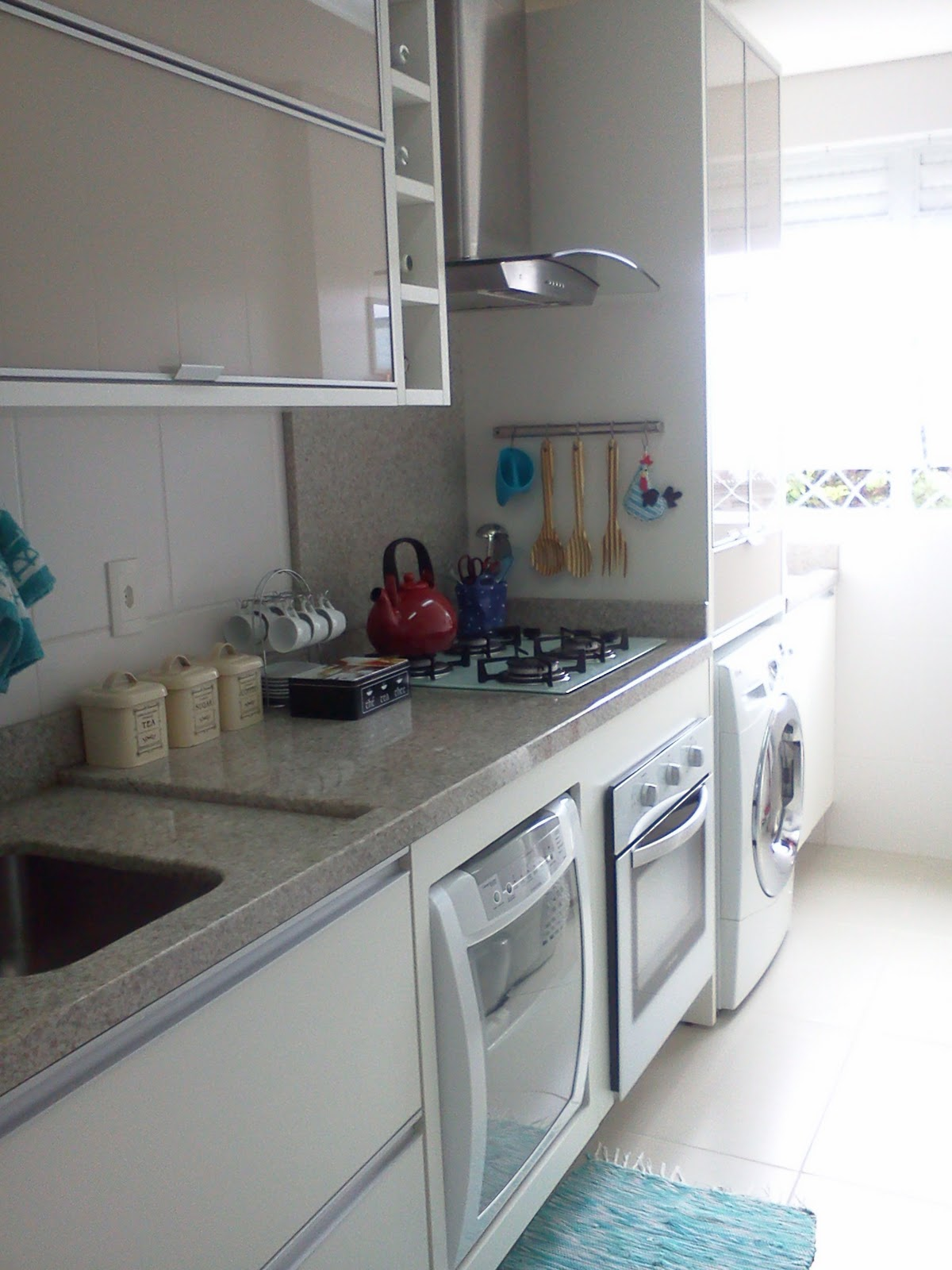 #4F727C Sei que tem muita gente que não gosta de máquina de lavar louças  1200x1600 px Projetos De Cozinhas Brastemp #439 imagens