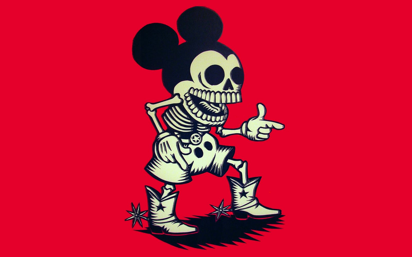 Wallpaper A Day We All Love A Zombie Micky Mouse Wallpaper