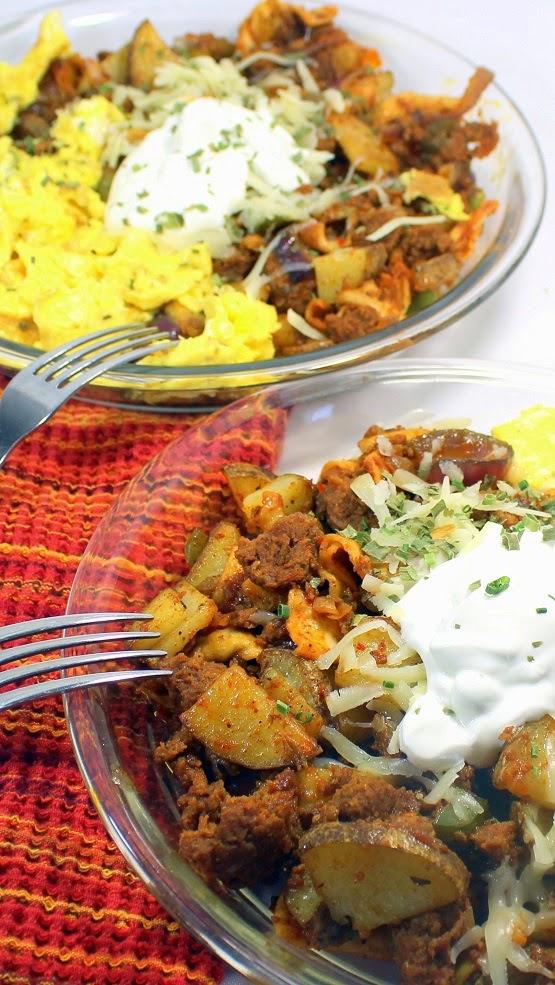52 Ways to Cook: Tex-Mex MIGAS Breakfast Scramble - 52 Breakfast Ideas