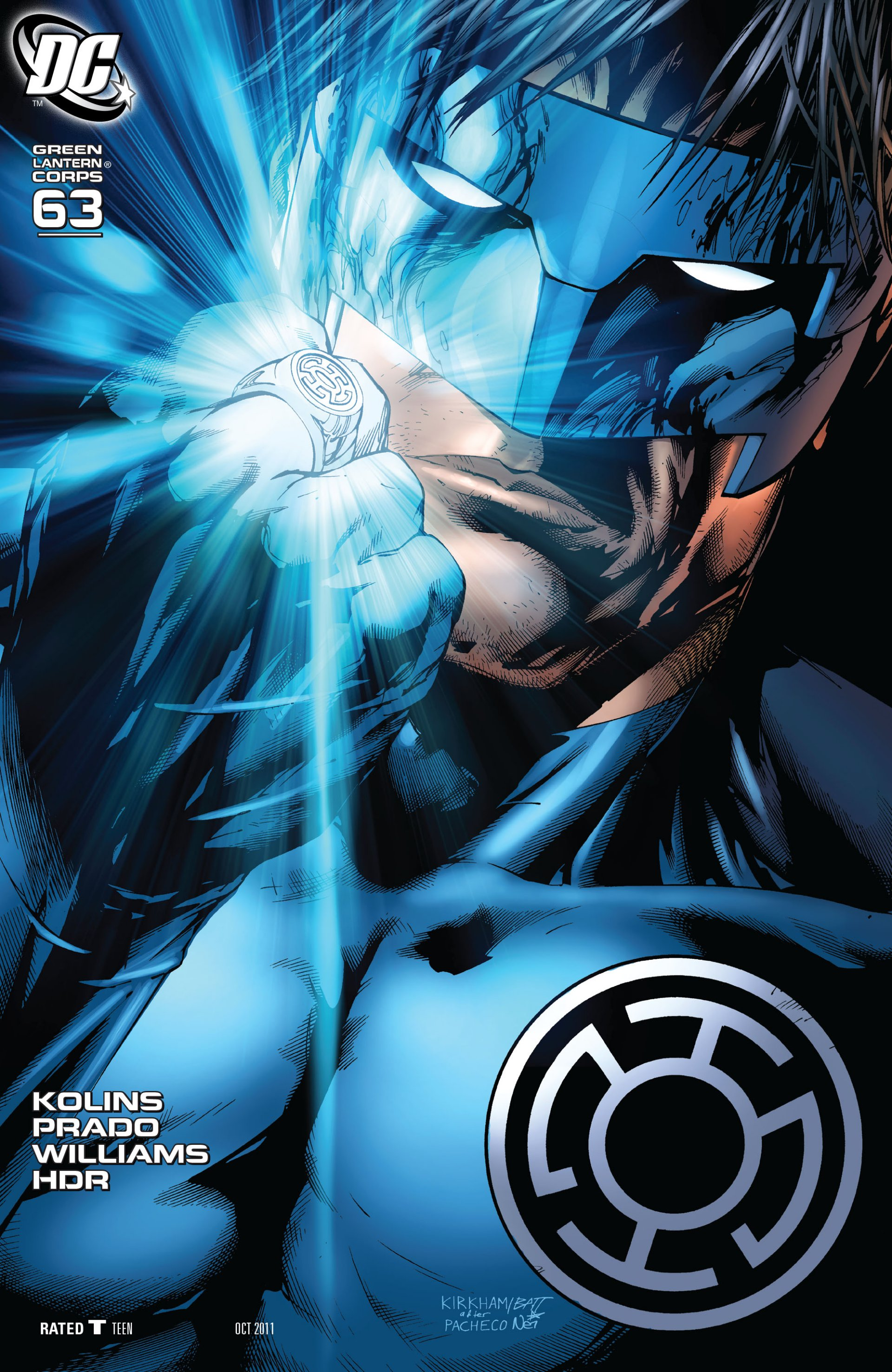 Read online Green Lantern Corps (2006) comic -  Issue #63 - 2