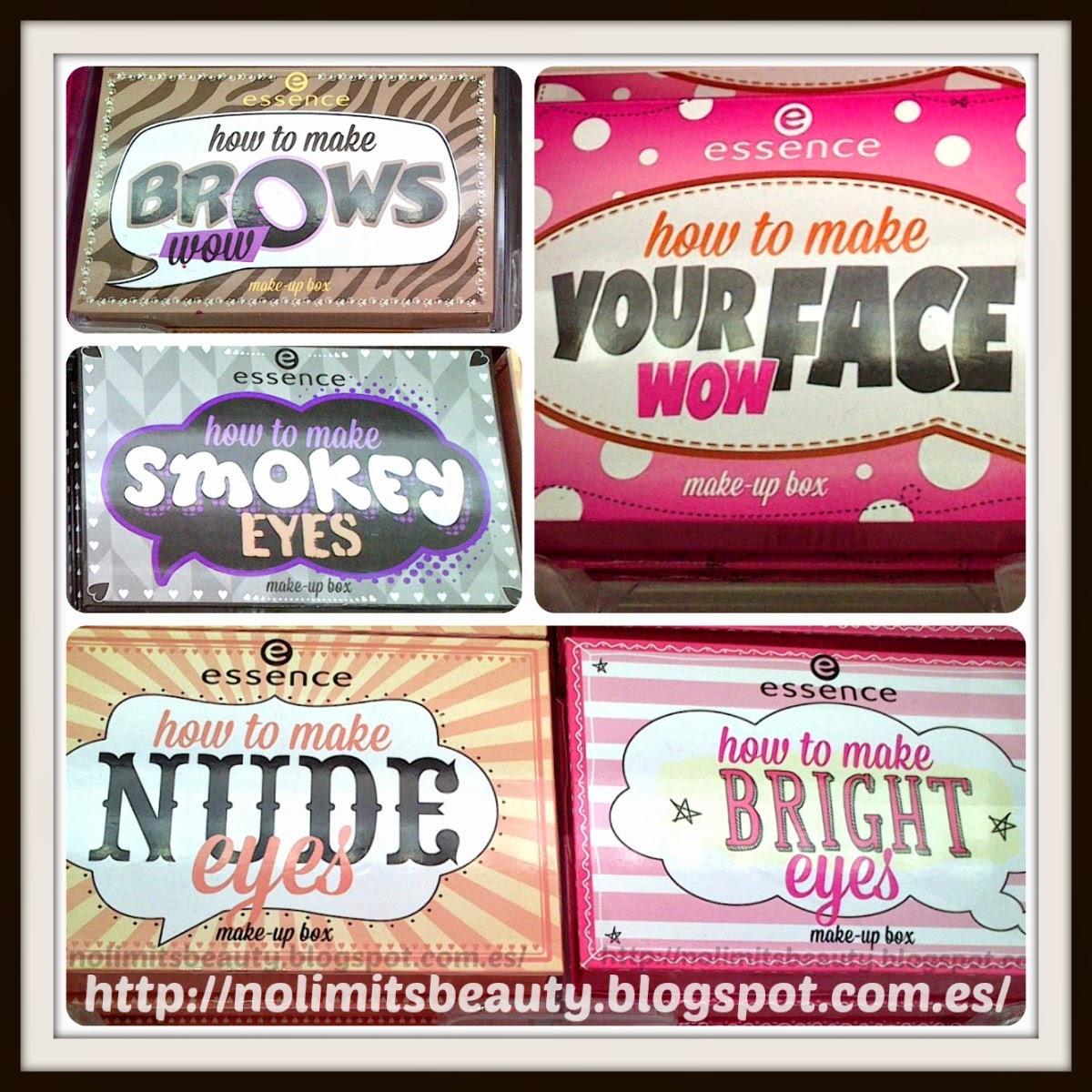 Novedades Essence Verano 2014: make up boxes