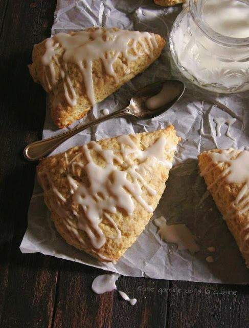 lime + ginger cream scones :: une gamine dans la cuisine