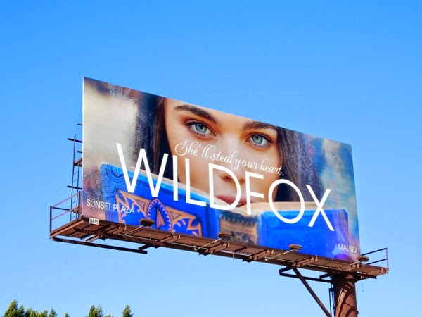 Wildfox She'll steal your heart billboard