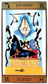 El Juicio- Tarot de Dalí