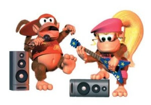 Diddy Kong y Dixie Kong: