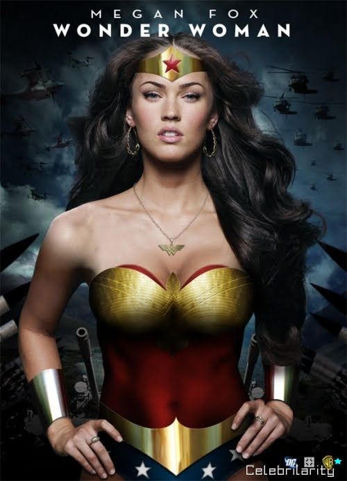 megan fox wonder woman pics. tattoo Wonder Woman megan fox