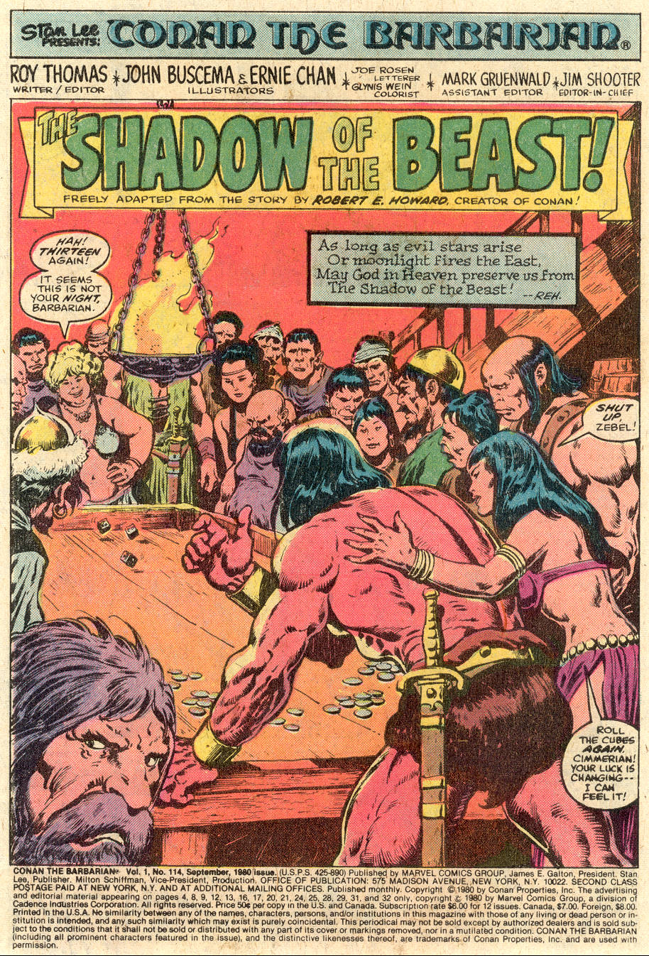 Conan the Barbarian (1970) Issue #114 #126 - English 2