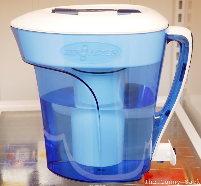 zerowater pitcher review giveaway the gunny sack. Black Bedroom Furniture Sets. Home Design Ideas