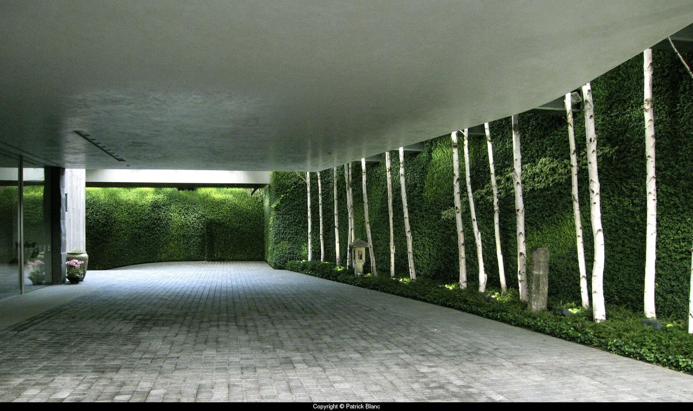 Bad design news giardini in verticale capolavori - Giardini verticali interni ...