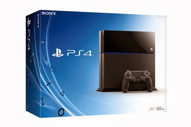 Sony PlayStation 4 console is priced at $399, €399, and £349