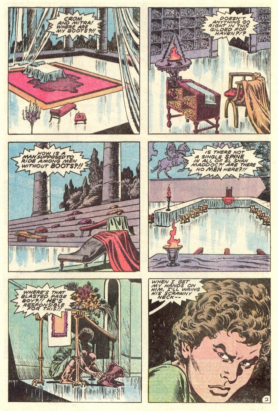 Conan the Barbarian (1970) Issue #182 #194 - English 3