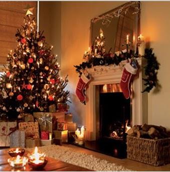 arreglos navideños para la casa, decorar la casa en navidad, como