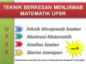 Modul Teknik Berkesan Matematik UPSR