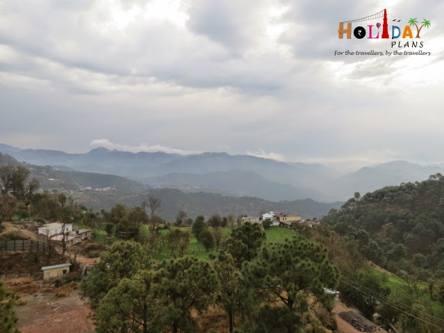 Kasauli overview from our hotel balcony