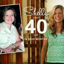 Shelly lost 40 pounds in four months using the BowFlex Treadclimber